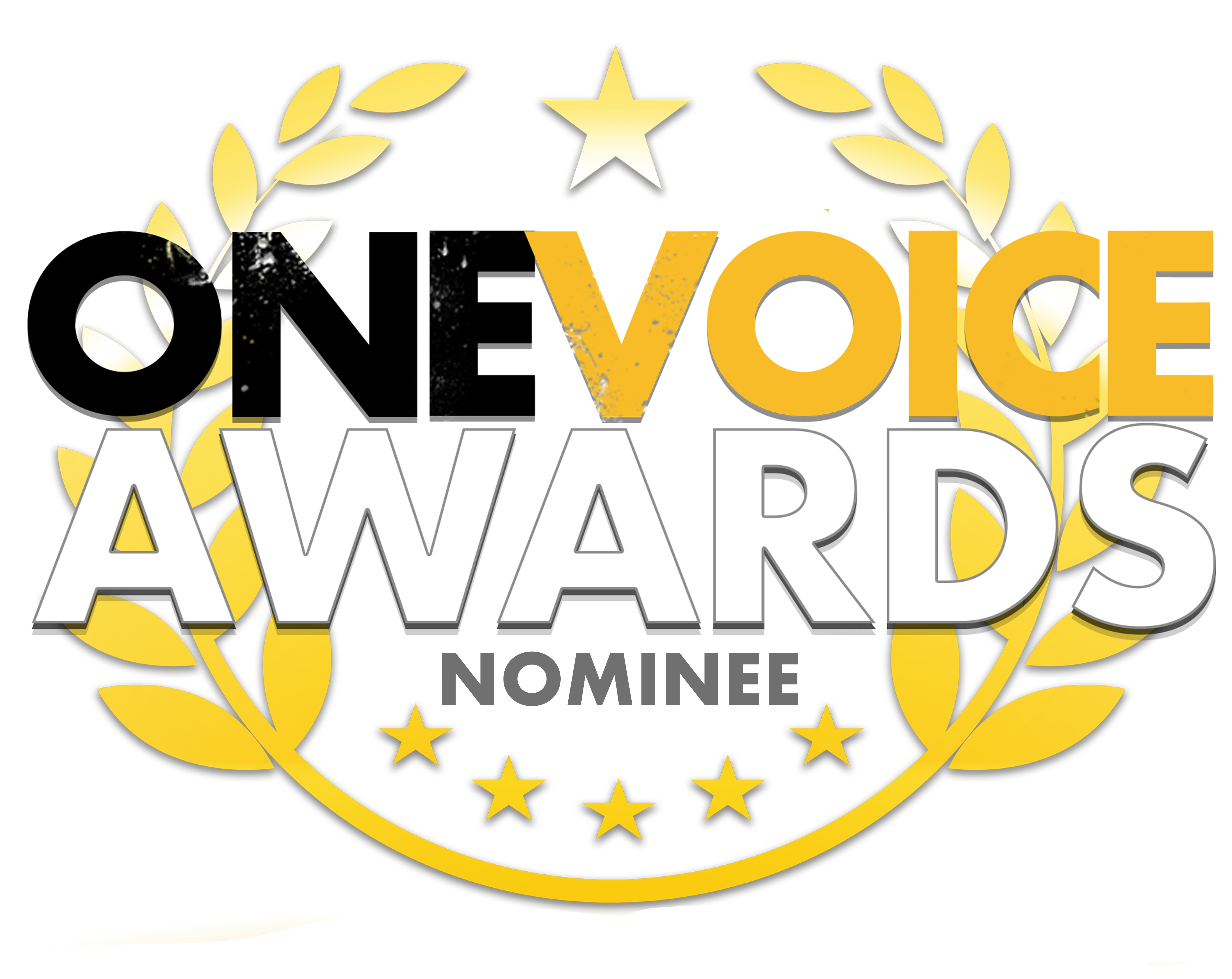 One Voice Awards nominee - shortlisted in two voiceover categories
