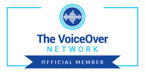 Official member of the Voiceover Network badge