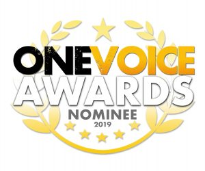 One Voice voiceover awards finalist